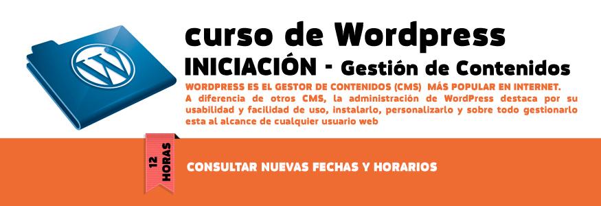 Curso de WordPress iniciación - Gestión de contenidos