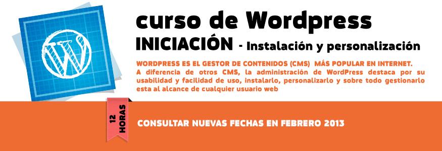 Curso de wordpress iniciacion - Instalación y personalización